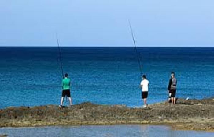 pescadores deportivos a spinning