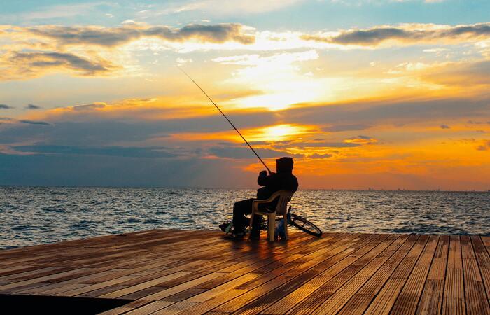 caña de pescar para surfcasting