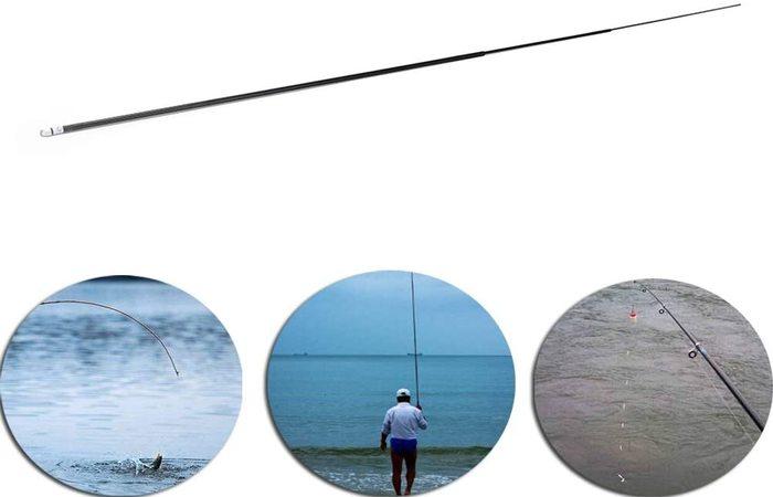 puntero de caña de pescar