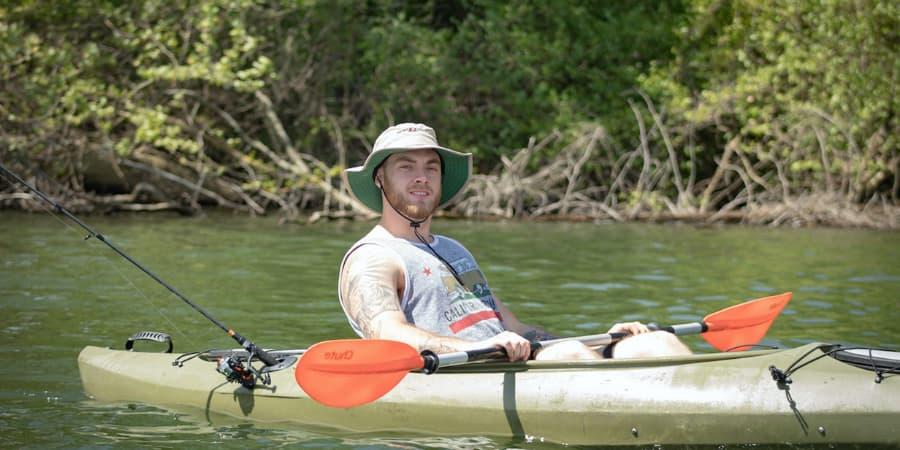 Pesca al currican con Kayak